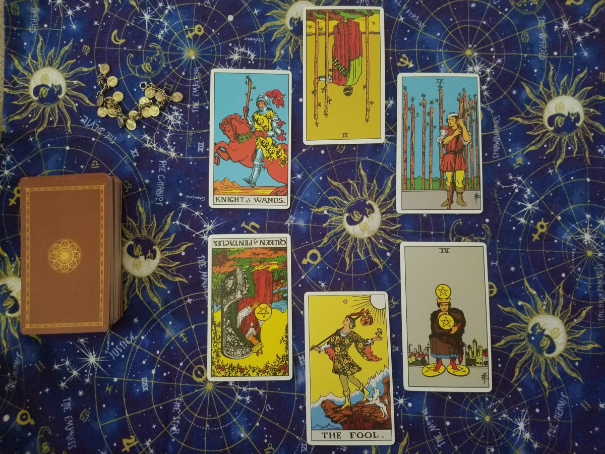 New Moon in Virgo Tarot Spread