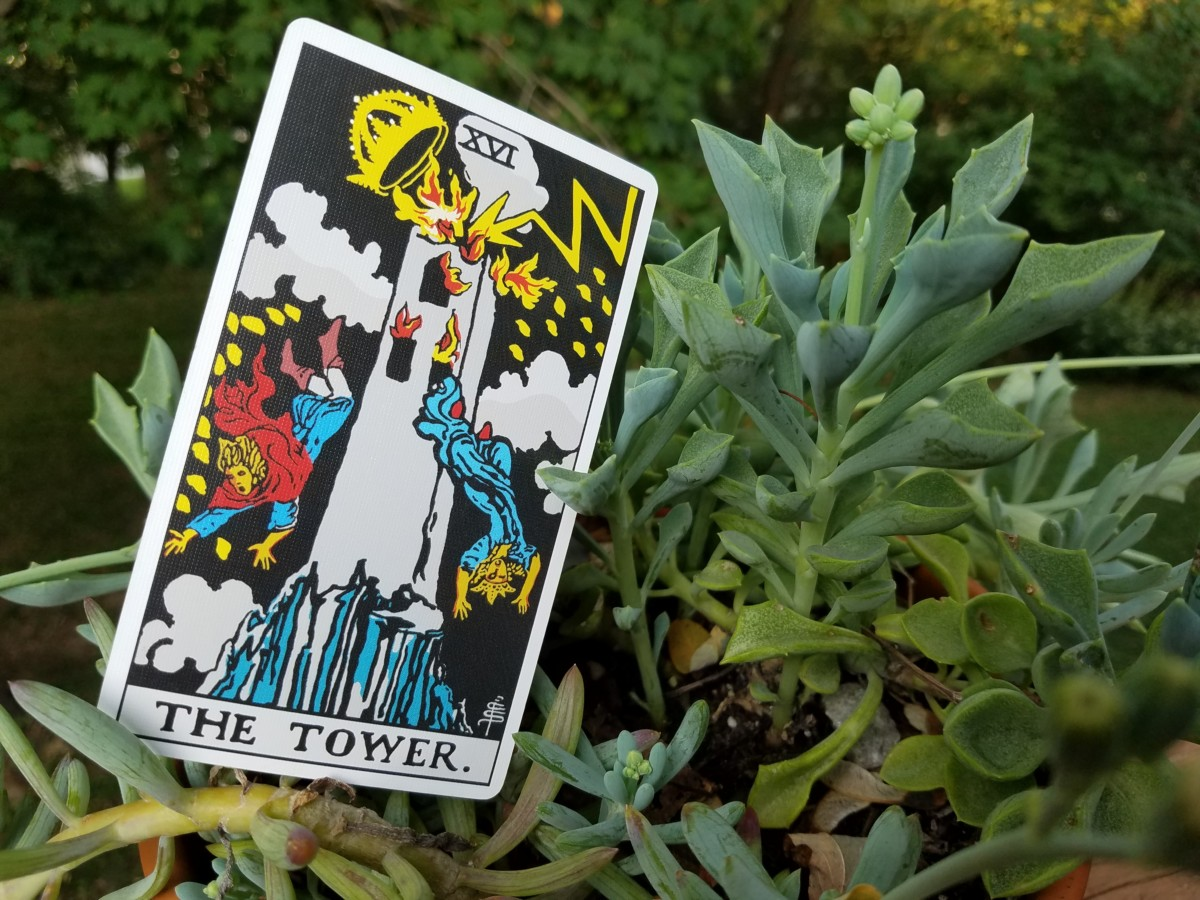 Tarot Card The Tower