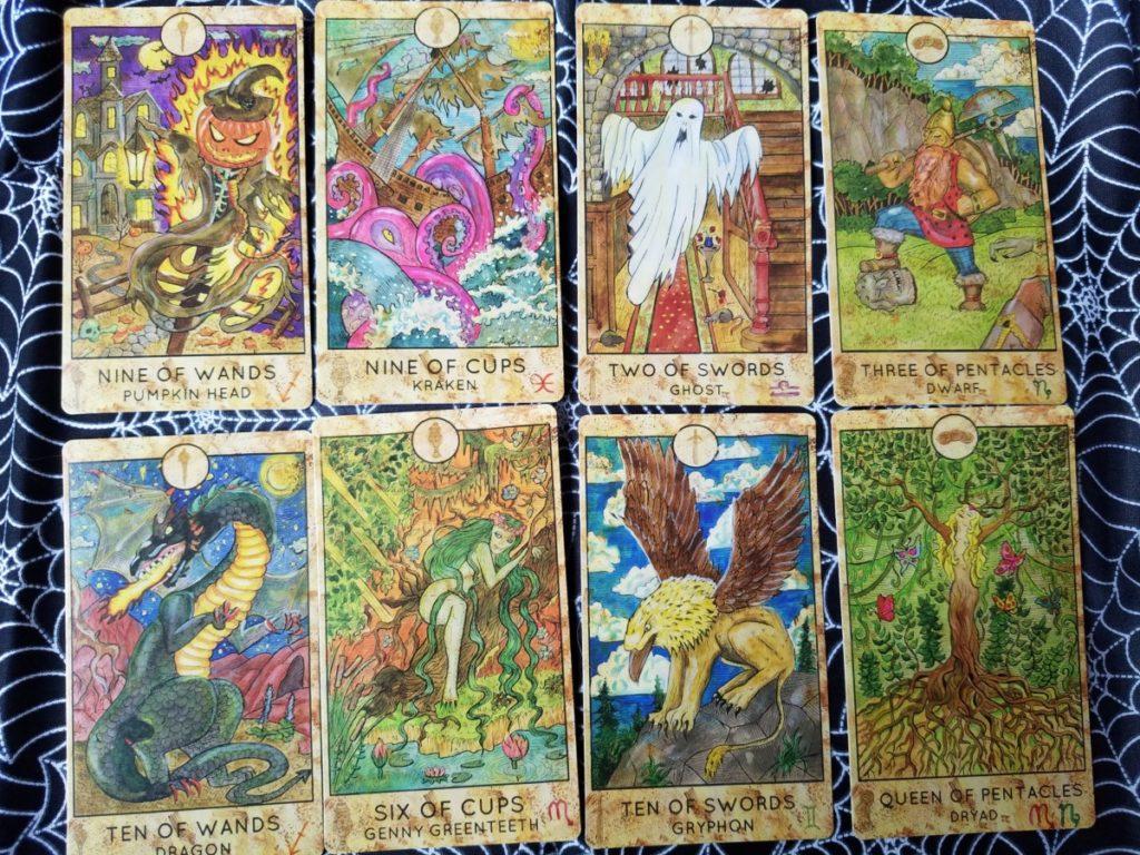 Spirit Halloween Tarot Cards