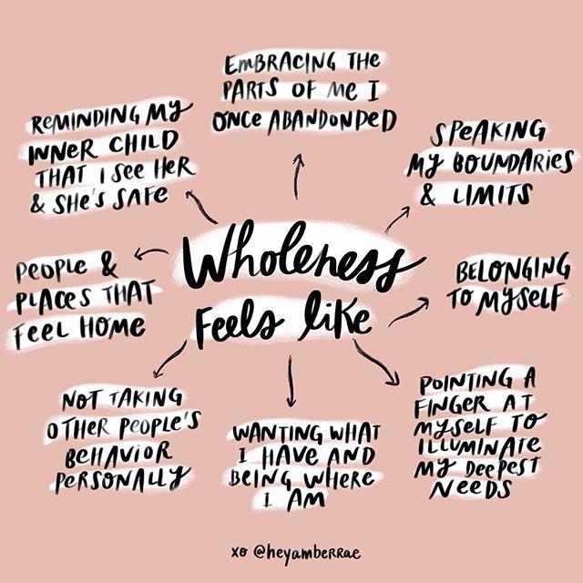 Wholeness Amber Rae