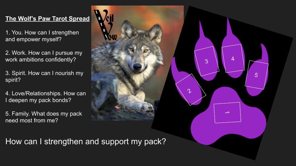 Wolf's Paw Tarot Spread