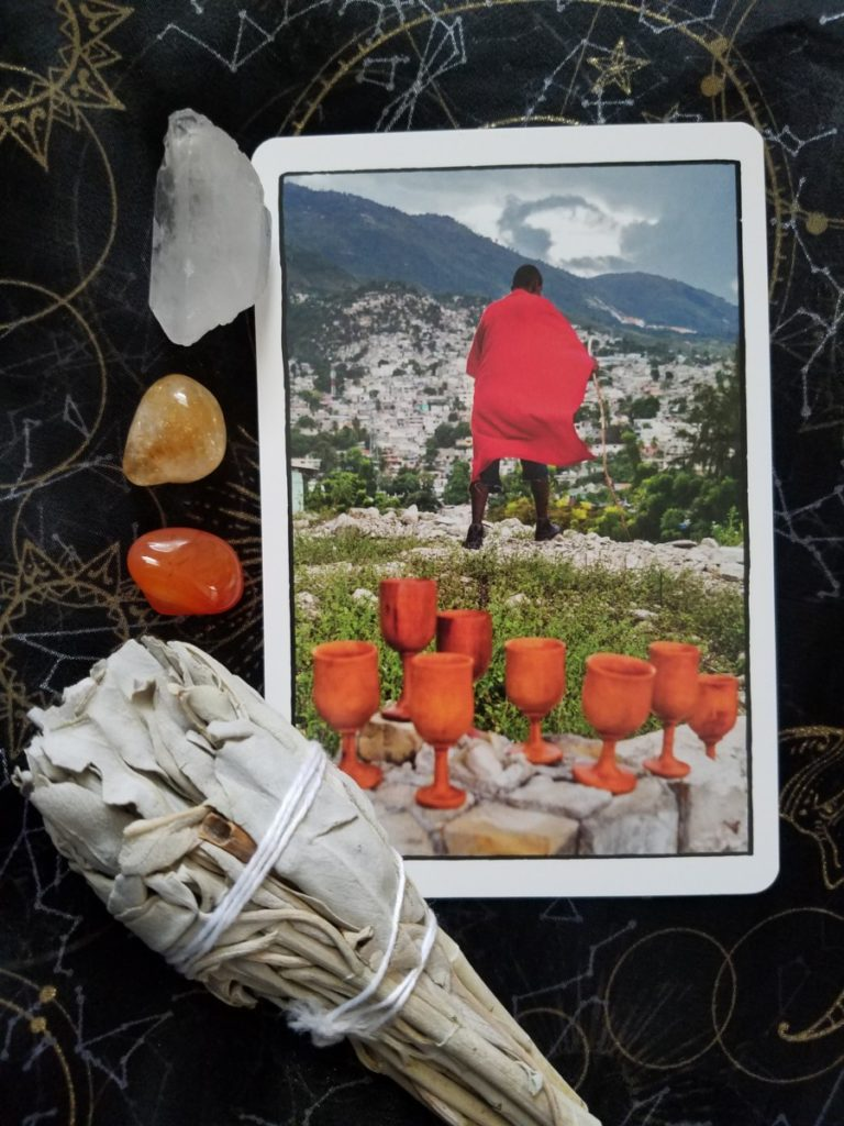 Eight of cups Ghetto Tarot