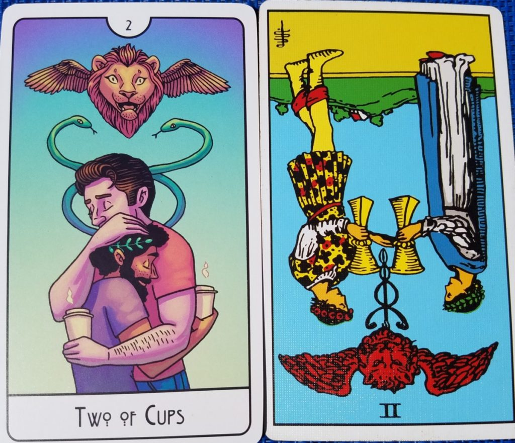 Two of Cups This Might Hurt