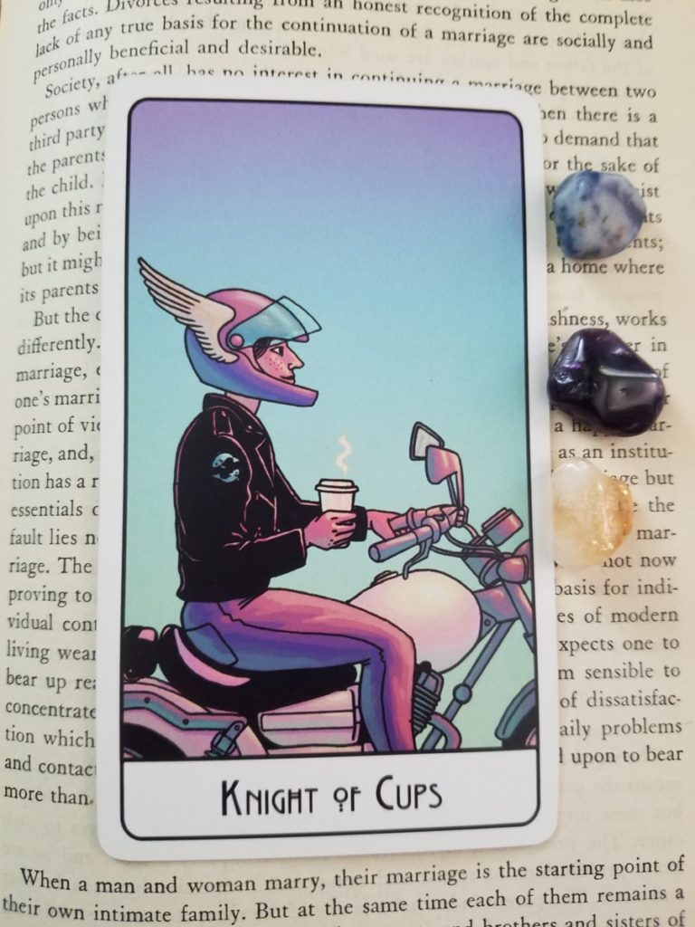 Knight of cups this might hurt