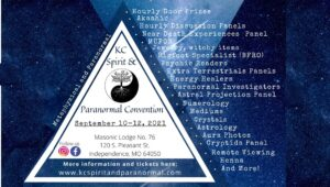 KC Spirit and Paranormal Convention